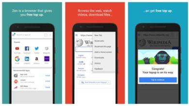 Cara Mendapatkan Pulsa Gratis dari Aplikasi Zen Browser