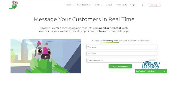 Cara Mudah Membuat Live Chat di Blog dan Website