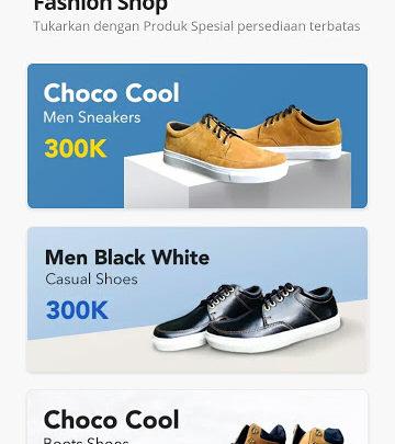 sepatu gratis