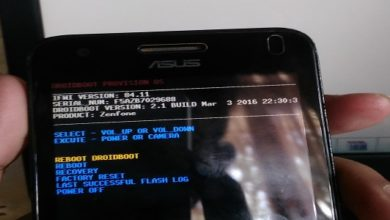 bootloop hp asus