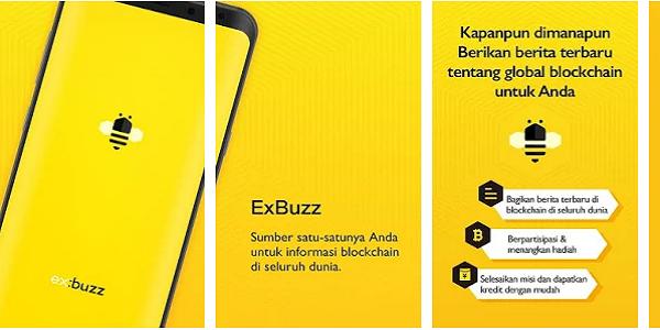 Aplikasi ExBuzz Android