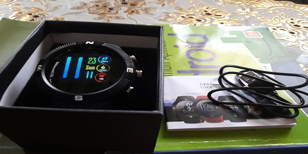 unboxing smartwatch
