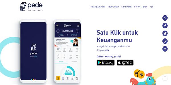 Aplikasi Pulsa Gratis dari Aplikasi Pede Android