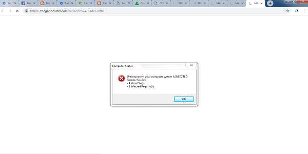 Cara Menghapus Virus Thegoodcaster.com dari Google Chrome