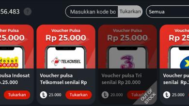 Pulsa Gratis dari Aplikasi OONA TV