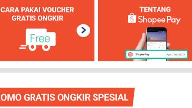 Aplikasi Shopee Voucher Gratis Ongkir
