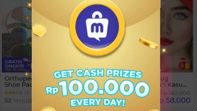 Uang Gratis 100 ribu dari Aplikasi Mucho Android