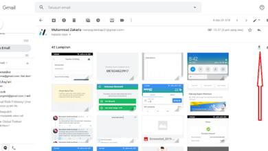 Cara Download Semua Gambar dari Email hanya dengan 1 Klik