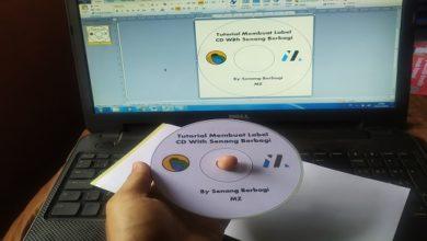 Cara Mudah Membuat Label CD