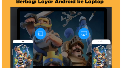 Aplikasi Android Terbaik Untuk Menampilkan Layar Android ke Laptop