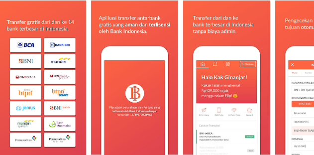 Aplikasi Kirim Uang Terbaik Antar Bank Gratis