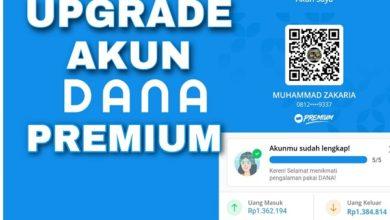 Cara Upgrade Dana ke Versi Premium dengan Cepat