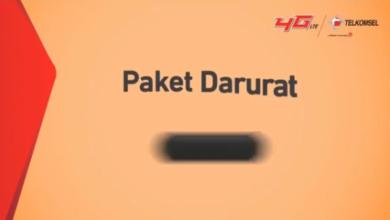 Paket Darurat Telkomsel