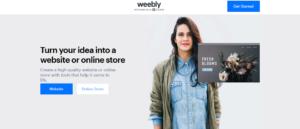 Situs Penyedia Blog Weebly
