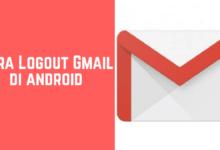 Cara logout dari gmail