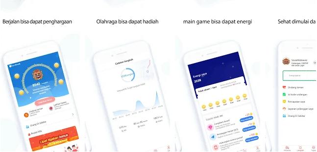 Uang Gratis dari Aplikasi Wewalk