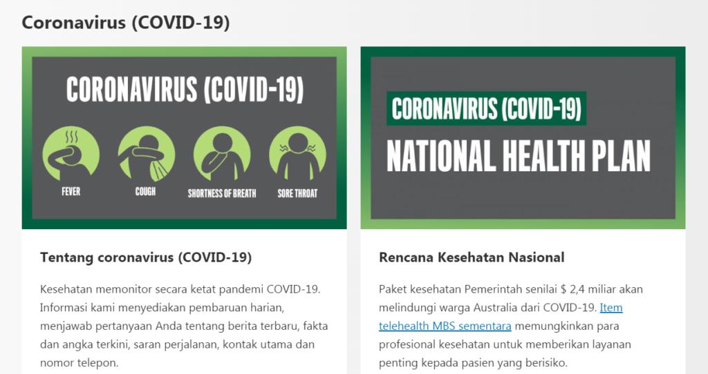 Situs Untuk Mengetahui Penyebaran Virus Corona