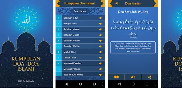 Aplikasi Kumpulan Doa Terlengkap Untuk Android