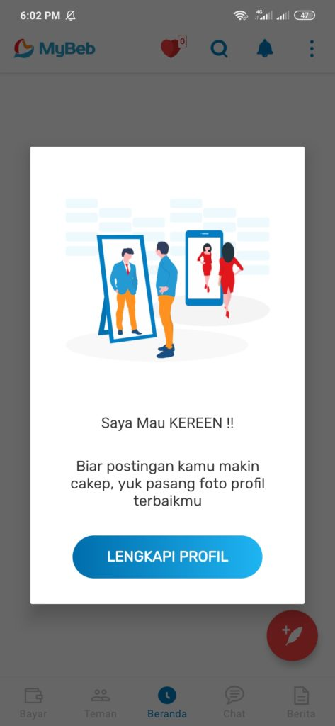 Aplikasi MyBeb Android