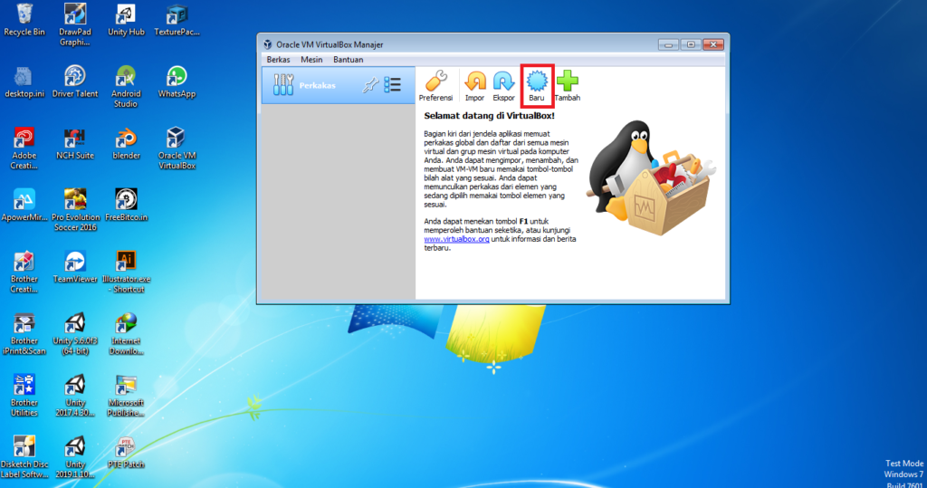 Cara Instal Ubuntu 18.04 dari VirtualBox