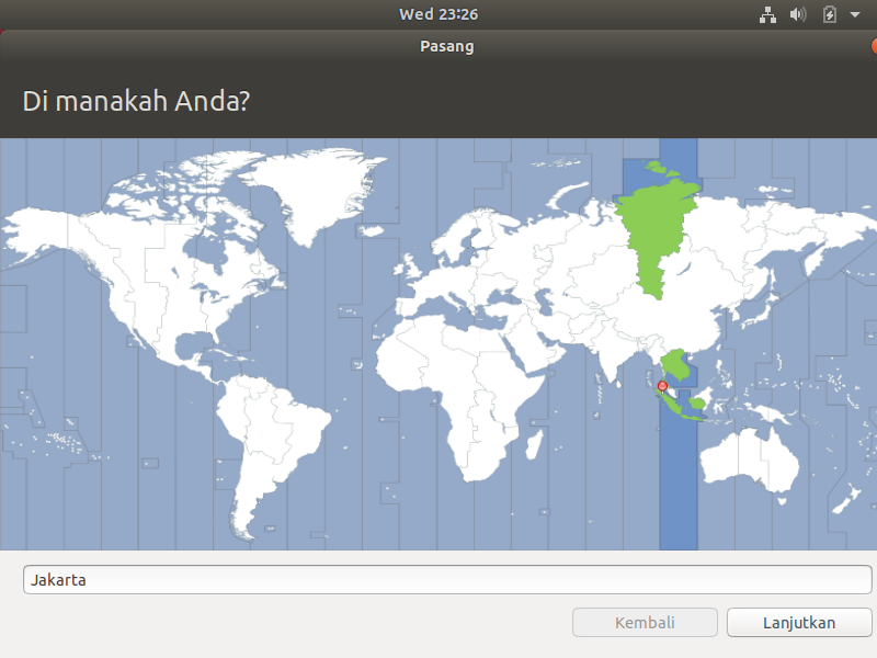 Zona Waktu Jakarta Ubuntu