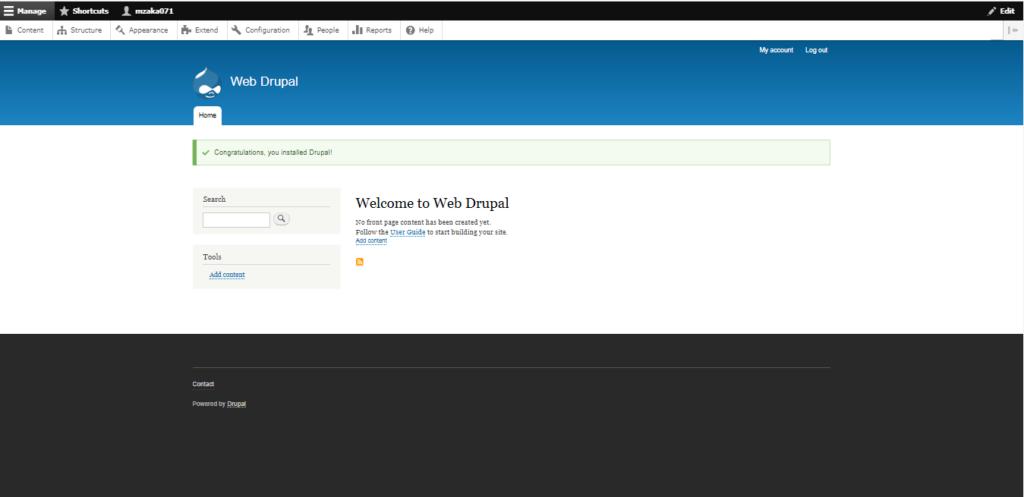 Cara Mudah Instal Web Drupal
