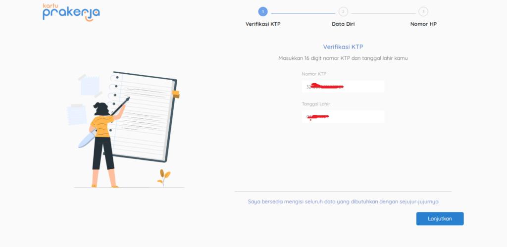 Veririfikasi KTP