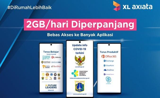 Internet Gratis XL & Axis