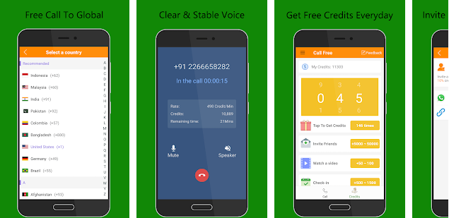 Aplikasi Nelpon Gratis Call Global