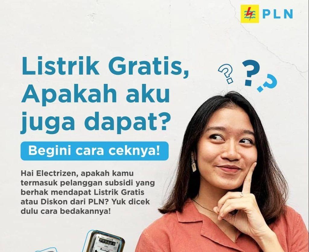 cara mengecek dapet token pln gratis atau listrik gratis