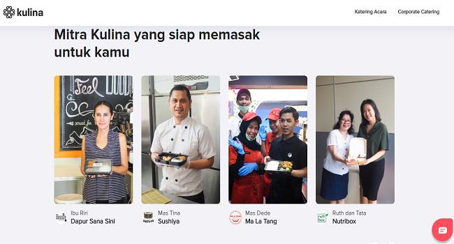 Kulina Situs jual makanan online terbak