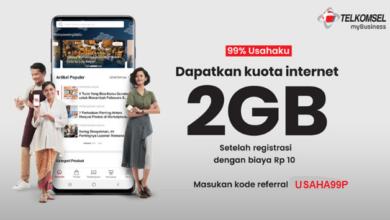 Cara Mendapatkan Paket Telkomsel 2GB