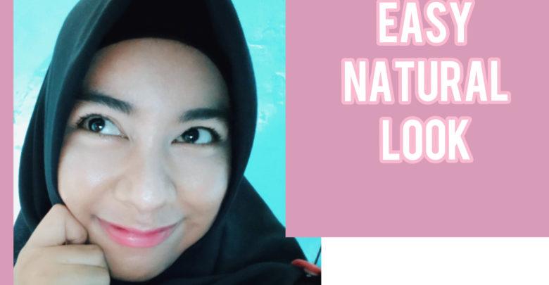 Inspirasi easy natural look