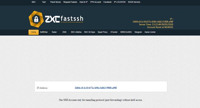 Fast SSH Situs penyedia SSH Terbaik