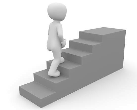 Olahraga naik turun tangga