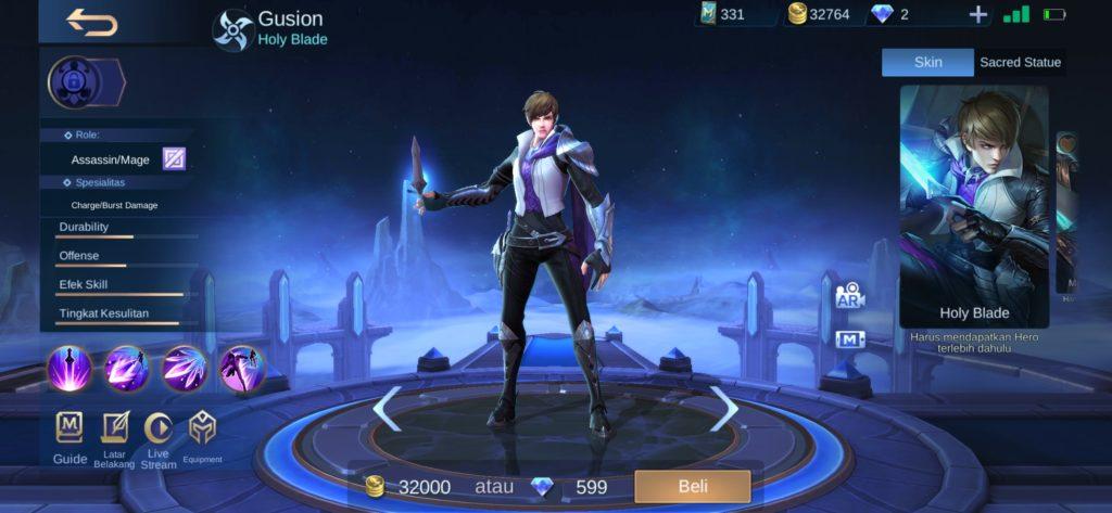 membeli hero mobile legends