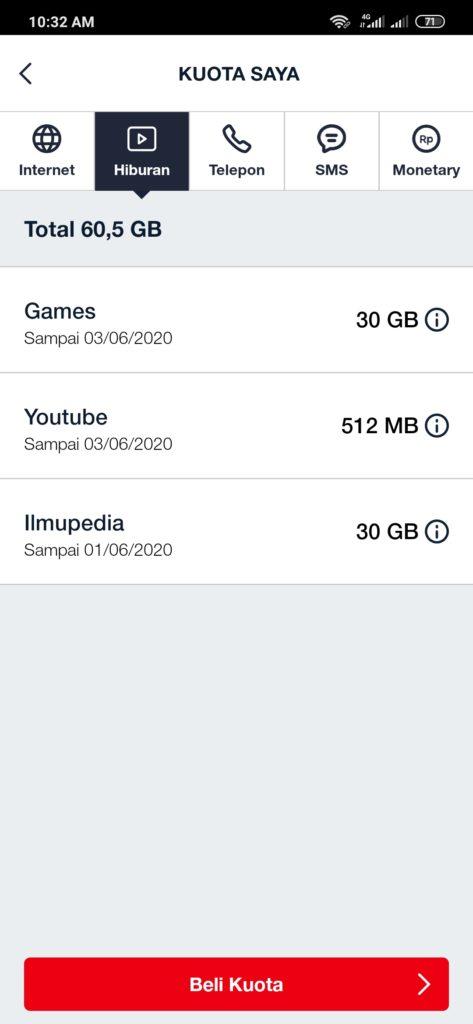 Paket GamesMax Telkomsel