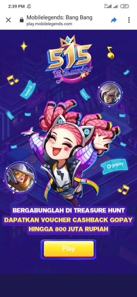 Event 515 Mobile Legends