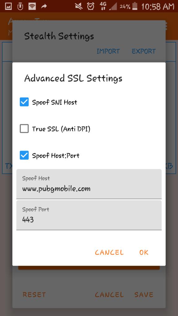 pengaturan advanced ssl