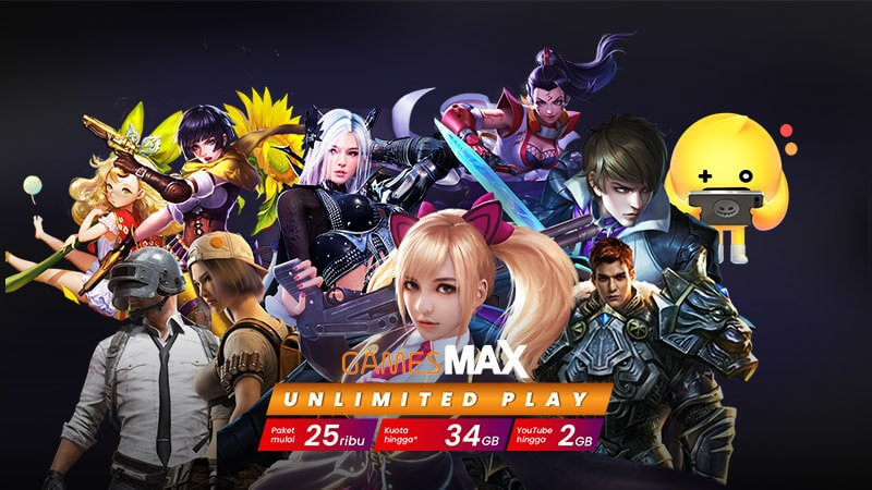 Paket GamesMax Telkomsel Menjadi Kuota Flash
