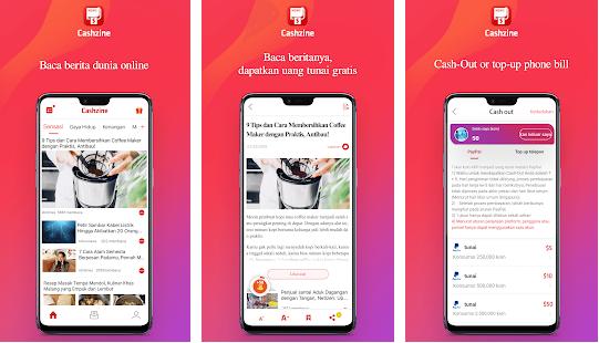 10 Aplikasi Penghasil Uang Gratis Terbaik dari Android