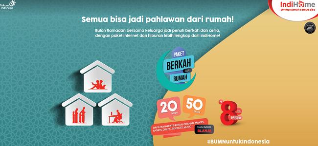 Indihome Paket Internet Rumah Unlimited