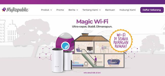 My Republic Paket Internet Rumah Unlimited