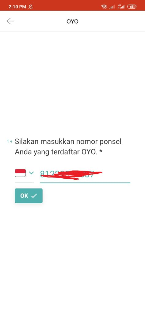 Aplikasi Oyo