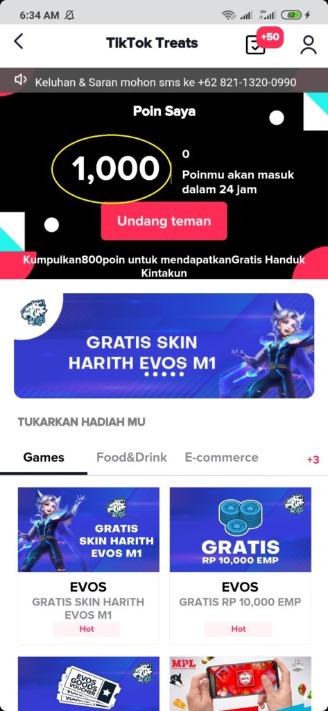 Aplikasi Tiktok Cara Mendapatkan Hadiah Menarik dari Aplikasi Tiktok