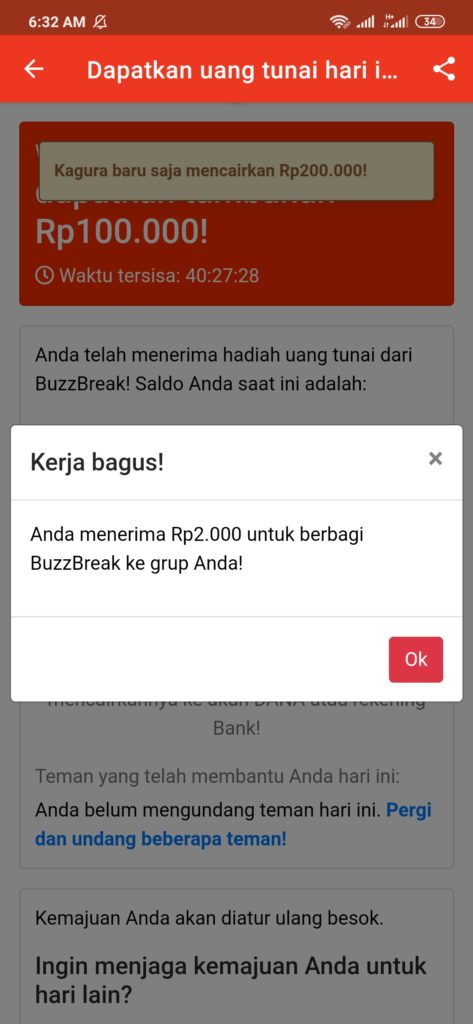 Aplikasi Buzzbreak