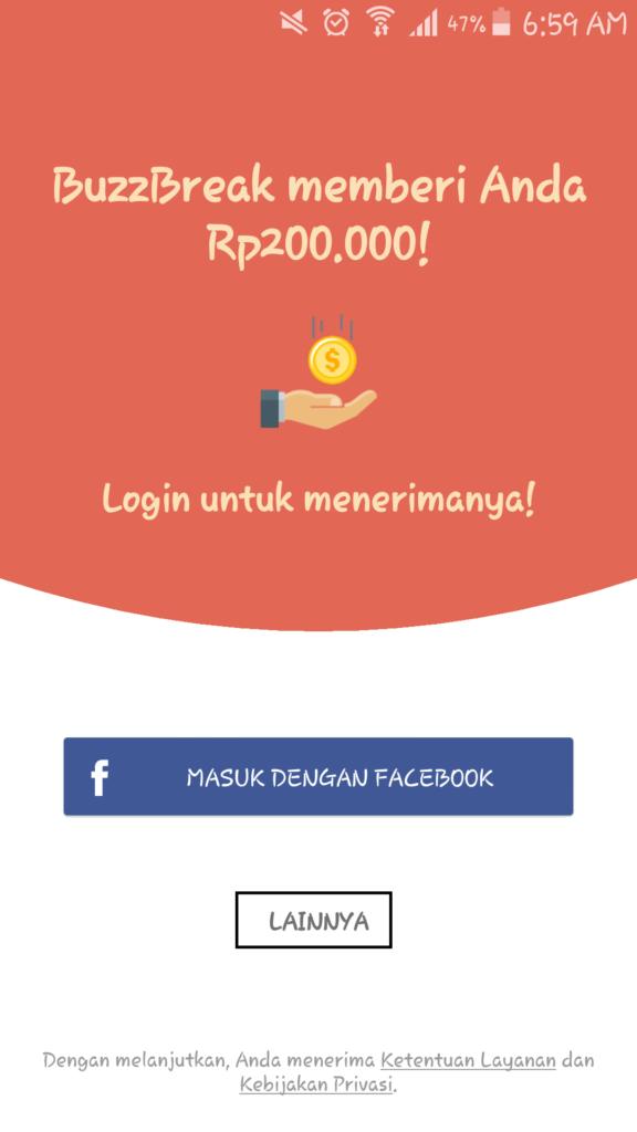 Cara Mendapatkan Uang Gratis dari Aplikasi Buzzbrak
