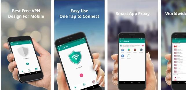 Surf VPN Internet gratis untuk android