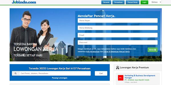 Jobindo situs pencari kerja terbaik