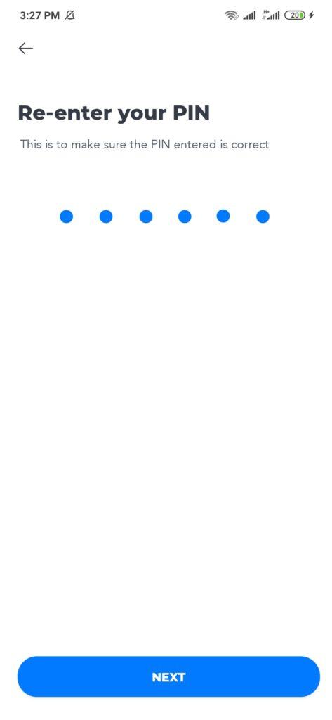 Membuat PIN dari Aplikasi Switf